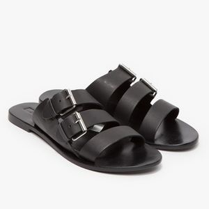 Sol Sana Foster Sandal / Black Leather